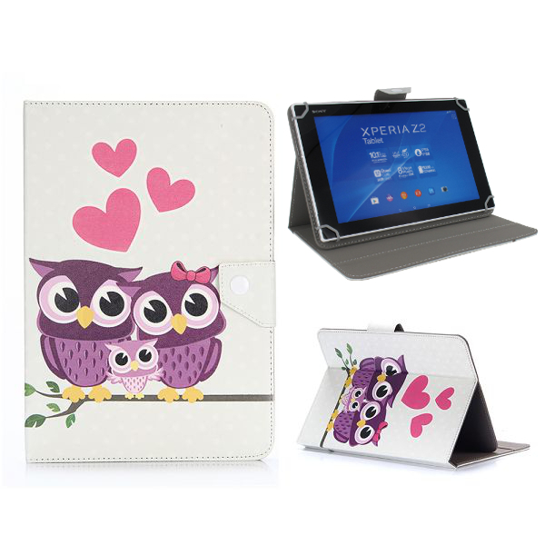 tablet tasche eule f r samsung galaxy tab 2 10 1. Black Bedroom Furniture Sets. Home Design Ideas