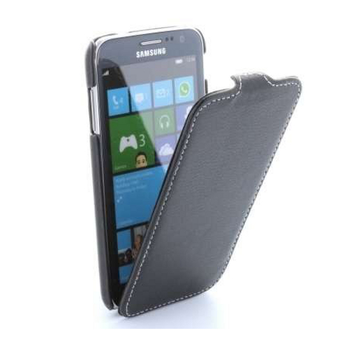 handy tasche flip case samsung ativ s gt i8750 h lle etui schutzh lle cover ebay. Black Bedroom Furniture Sets. Home Design Ideas